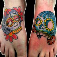 skully feet